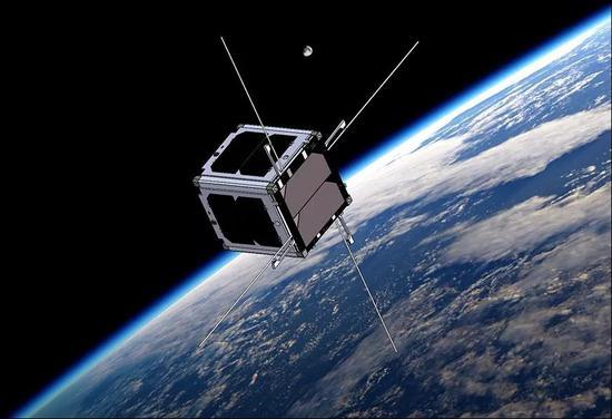 重量大约1千克的立方星。在未来,我们可能拥有自己的个人卫星。 Virginia CubeSat Constellation